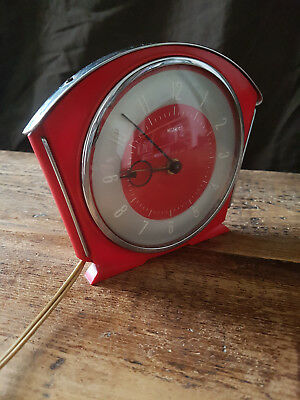 Vintage Metamec Electric Alarm Clock-Retro, 1950s