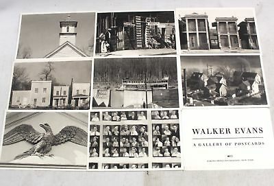 WALKER EVANS - A Gallery Of Postcards, 'The Great Depression' PHOTOGRAPHS - C23