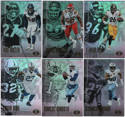 2017 Panini Illusions Football - Base Set Cards - Choose From Card #'s 1-100