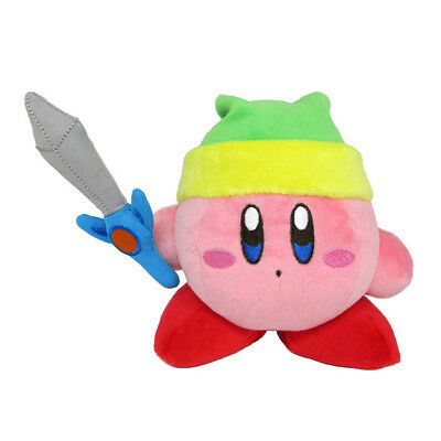 Kirby's Adventure All Star Collection Sword Kirby Plush Toy [Little Buddy]