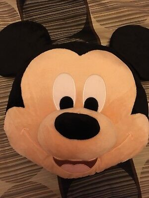 Mickey Mouse Pillow Disney Store Slightly Used