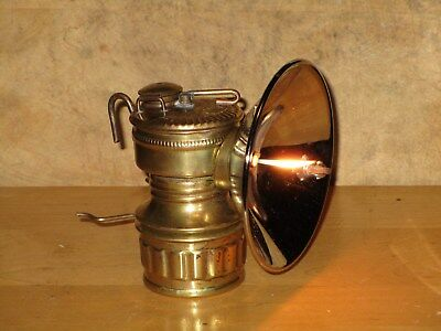 Miners  GUY'S DROPPER CARBIDE LAMP- EXCELLENT!! WORKING!!
