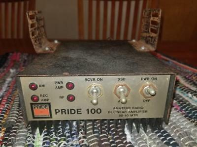 Pride 100 Watt Amateur Radio 80-10M Bi Linear WORKS