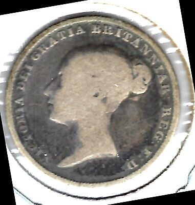 Great Britain - Sixpence, 1839 -  Silver