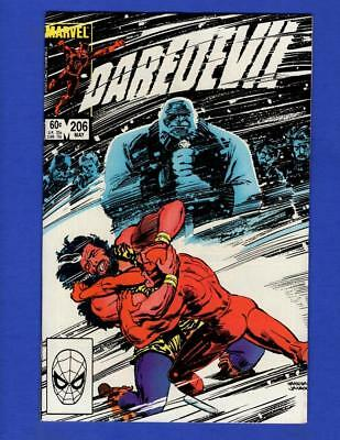 Daredevil #206 Nm 9.4 High Grade Copper Age Marvel Comics