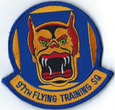 USAF 97th FLYING TRAINING SQUADRON PATCH