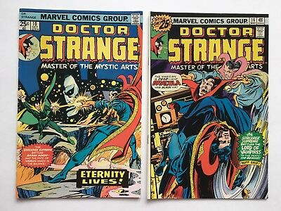 Doctor Strange Issues #10 and #14. GRADED 9.4 NM