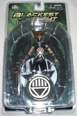 DC Direct Blackest Night series 6 Black Lantern Hawkgirl Mint in package