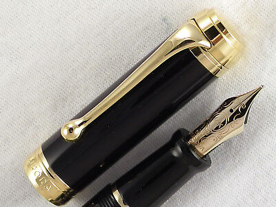 "Mint Aurora ""talentum"" Fountain Pen ~ Medium 14K Gold Nib ~ Ready To Use"