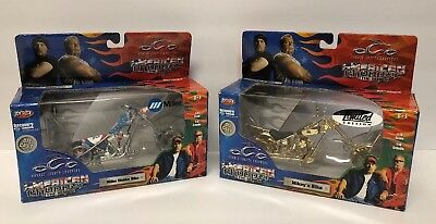 Orange County Choppers American Choppers Die Cast Lot Of 2 New