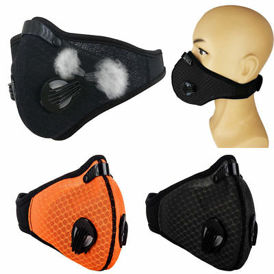 Top Anti Smoke Air Filter Dust Face Mask Outdoor DustProof Filter multi layer