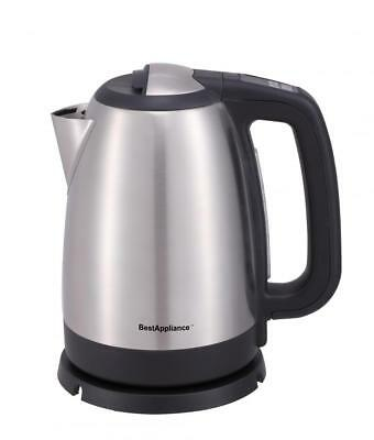 Electric Tea Kettle 1.7 Liter Cordless Hot Boil Water Coffee Stainless Steel K5
