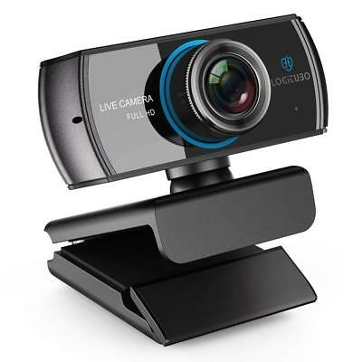 HD Live Streaming Webcam 1536P/1080P 3.0 Megapixel with Double Microphone...
