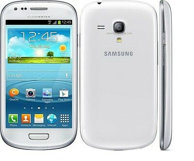 Original Unlocked Samsung Galaxy S3 Mini I8190 8GB White Smartphone