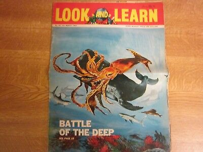 March 1963, LOOK & LEARN, 60, Jesse James, Thomas Gray, Japan, Octopus, Athene.