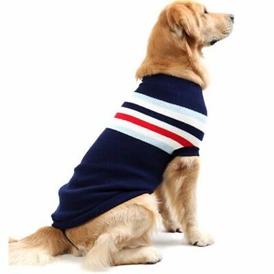 Pet Puppy Hoodies Clothing Knit sweater Winter Small Medium Large Dogs Clothes