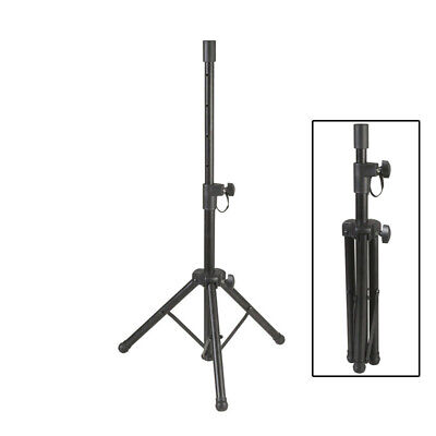 Folded Small PA Speaker Stand Steel construction height adjustable