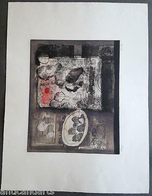 Lithographie signée Jean Couy Brume 17/60