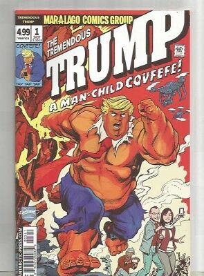 The Tremedous Trump A Man-Child Covfefe # 1**huge Sale  (2018)**near Mint