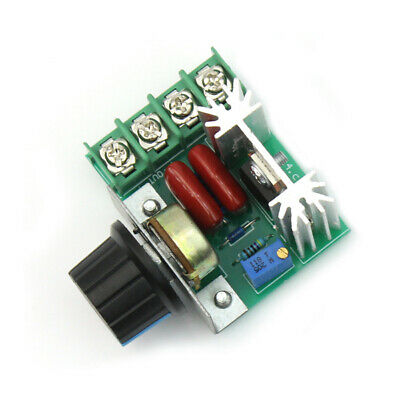 5V-220V 2000W Variable Regulator Controller PWM AC Motor Speed Switch Control