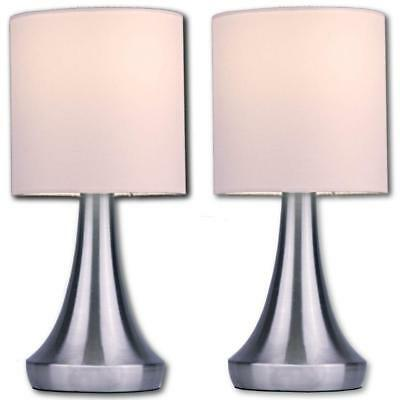 """Light Accents Bedroom Side Square Ceramic Table Lamps (2-Pack 13"""" Tall)"""
