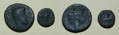 2 X ANCIENT BRONZE COINS - For Research