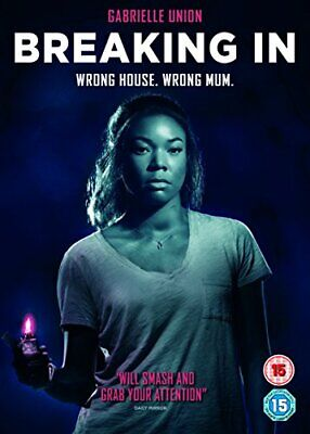 Breaking In (DVD) [2018] - DVD  7XVG The Cheap Fast Free Post