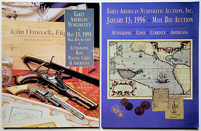 Lot of 2 - Early American Numismatic Auctions, Inc. Auction Catalogs