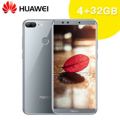 "Huawei Honor 9 Lite 5.65"" 4G Smartphone 4+32Go 4Camera 13MP Android8 Touch ID FR"