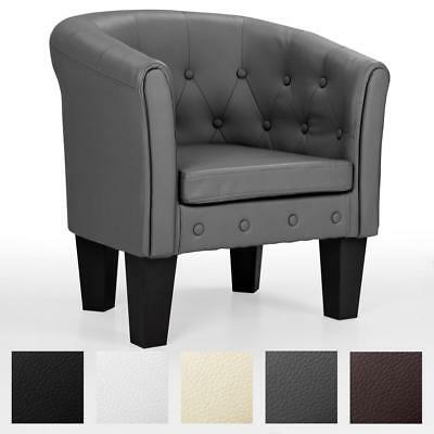 Chesterfield Sessel Lounge Couch Sofa Büro Möbel Clubsessel HOMELUX Bar Stuhl