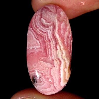 31.20Cts 100% Natural Pink Rhodochrosite Oval Cabochon Loose Gemstone