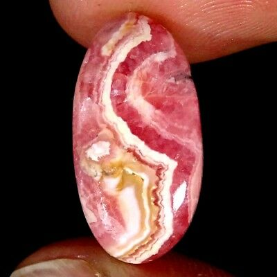 12.80Cts 100% Natural Pink Rhodochrosite Oval Cabochon Loose Gemstone