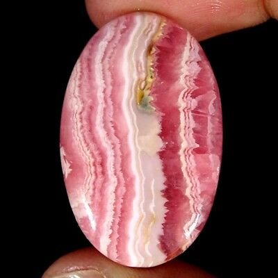 30.00Cts 100% Natural Pink Rhodochrosite Oval Cabochon Loose Gemstone