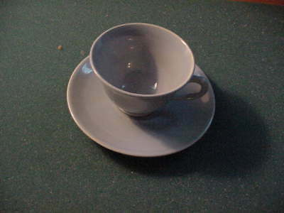 LuRay Pastel  Blue Cup and Saucer