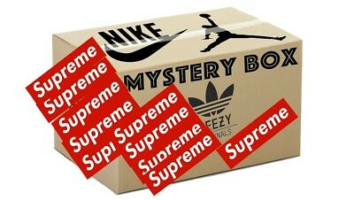 Mystery Box Sneakers Only (Supreme,gucci, Off White, Yeezys, Nike..)