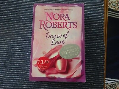 NORA ROBERTS DANCE of Love NYT Top ROMAN MIRA TB EUR 1,00
