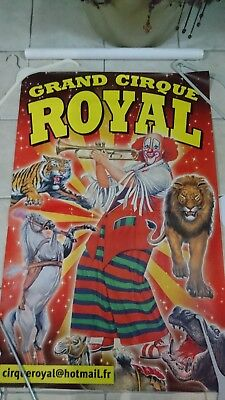 Affiche cirque murale 80*120 circus poster royal