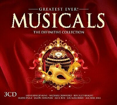 Various Artists - Greatest Ever Musicals - Various Artists CD BMLN The Fast Free