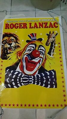 Cirque affiche murale 70*100 circus poster