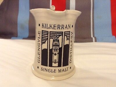 Kilkerran Glengyle Single Malt Scotch Whisky Pub Jug - Scarce