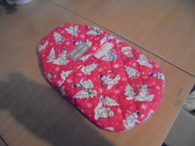 BNWT Cath Kidston  Hot water bottle and cover