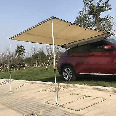 6.6x8.2ft Car Tent Awning SUV Vehicle Fold Out Awning UV-Resistant Waterproof