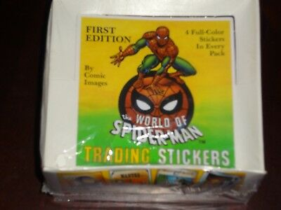 1988 Spiderman First Edition Factory Sealed box