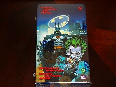 Batman Master Series Limited Factory Sealed Box