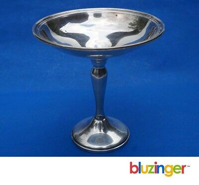 Antique Gorham Sterling Silver Reinforced Compote