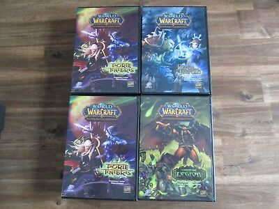 LOT 4 STARTER DECK - World Of Warcraft - VF - PORTE DES TENEBRES LA MACHE DE ...
