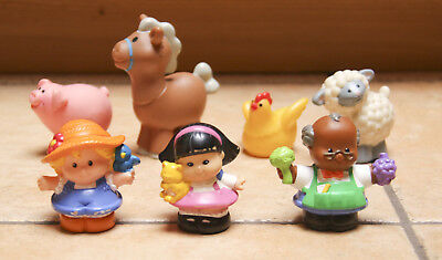 Fisher-Price_15_little people_3 personnages et 4 animaux