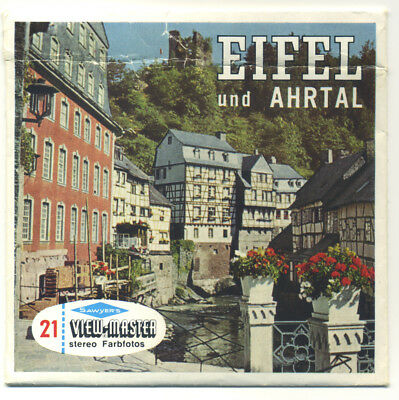 EIFEL und AHRTAL EIFEL and AHR VALLEY Germany ViewMaster Packet C-425-D