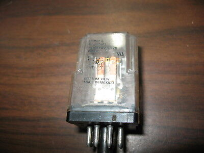 Potter & Brumfield R10-T1W2-S3.2K Relay (24 VDC, 8 Pin Round)