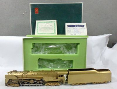MINT IN BOX HO Brass EH-101 GEM MODELS PRR PENNSYLVANIA 6-8-6 S2 STEAM TURBINE